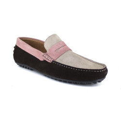 Loafer J.Bradford Beige Leather JB-ARUBA