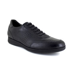 Sneaker J,Bradford Black Leather JB-ULISES 111
