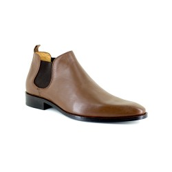 Low Boots J.Bradford Cognac Leather JB-DANET