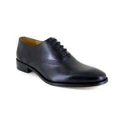 Richelieu J.Bradford Black Leather JB-ATENAS