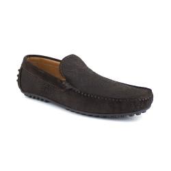 Loafer J.BRADFORD Brown Leather JB-ALIZE