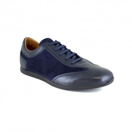 Sneaker J.Bradford Blue Leather JB-JABIRO