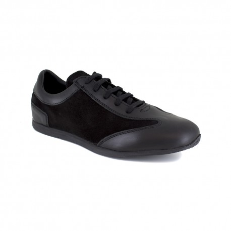 Sneaker J.Bradford Black Leather JB-JABIRO