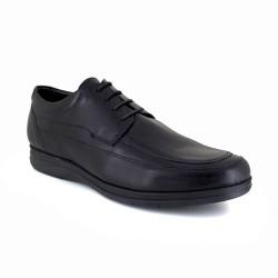 Mens Derby J.Bradford Black Leather JB-PRESTON121