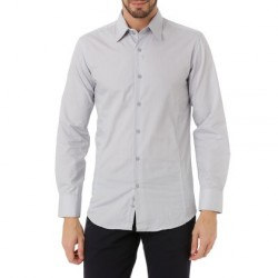 Shirt J.BRADFORD Light Grey Fabric EDEN