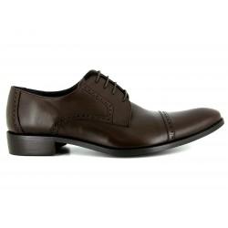 J.BRADFORD Zapatos Hombre Derby GREG Marron