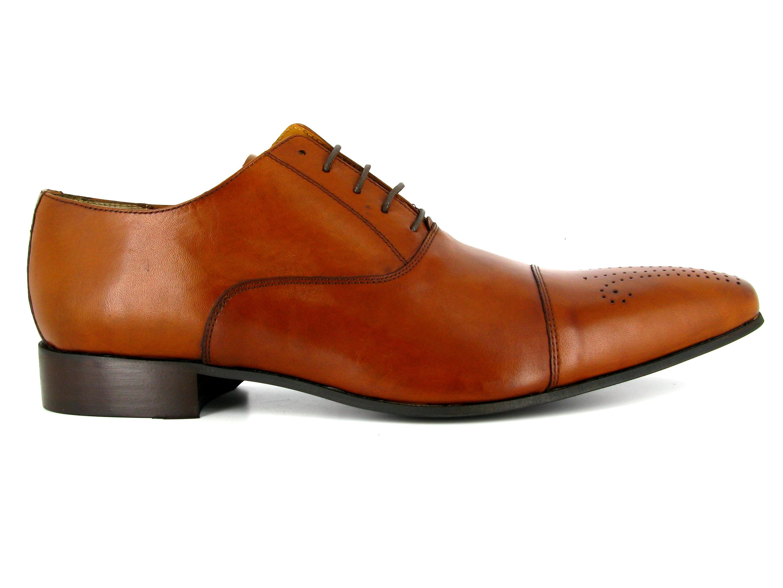 J.bradford Richelieu  Cuir  JB-DARVIN Marron - Chaussures Richelieu Homme
