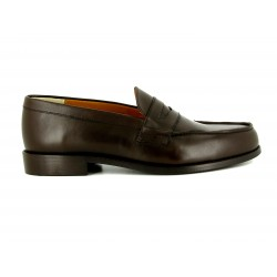J.BRADFORD MAN SHOES MOCCASIN PAUL BROWN