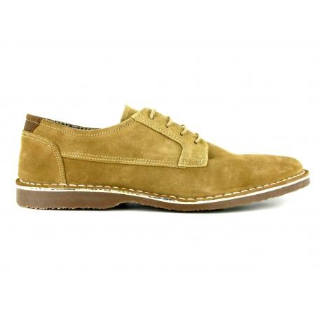 J.bradford Chaussures Derby JB-CEDRIC Sable Marron - Chaussures Derbies Homme