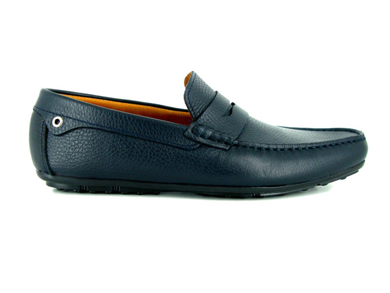 Brogues En Cuir J.bradford Marine - Couleur - Marine, Chaussures Taille 43 -