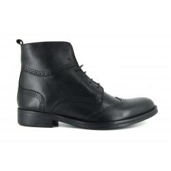 J.Bradford man shoes boots black leather JB-VICTOR