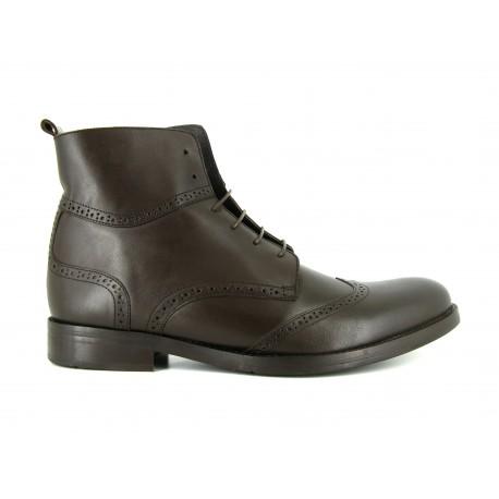 bradford Jb Cuero Marron Hombre Victor Botines J Zapatos 6qd4wUU