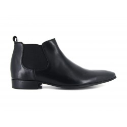 J.Bradford man shoes boots black leather JB-DONATO