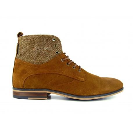 628a051a1a21 J.BRADFORD Man Camel Leather Boots JB-SIKOU