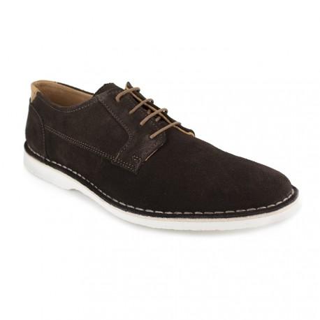 J.bradford Derby  Cuir  JB-CETRO Marron - Chaussures Derbies Homme