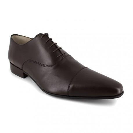 J.bradford Richelieu  Cuir  JB-DARPA Marron - Chaussures Richelieu Homme