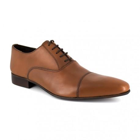 J.bradford Richelieu  Cuir  JB-AULISES Noir - Chaussures Richelieu Homme