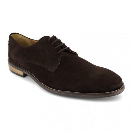 J.bradford Derby  Cuir  JB-FRET Marron - Chaussures Derbies Homme