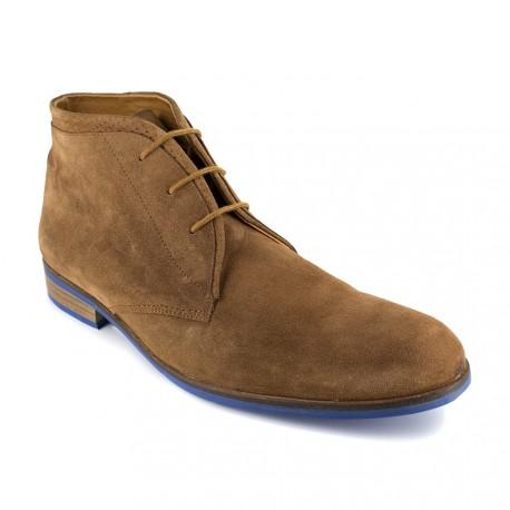 J.bradford Bottine  Cuir Sable JB-MAITOM Sable - Chaussures Boot Homme