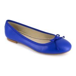 Ballerina J.Bradford Blue Leather JB-CARLA