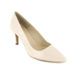 Stiletto J.Bradford Beige Leather JB-HERMI