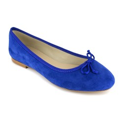 Ballerina J.Bradford Blue Leather JB-MIRIAM