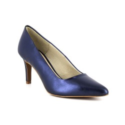 Stiletto J.Bradford Blue Leather JB-LARA