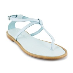 Sandal J.Bradford Light Blue Leather JB-ANGIE