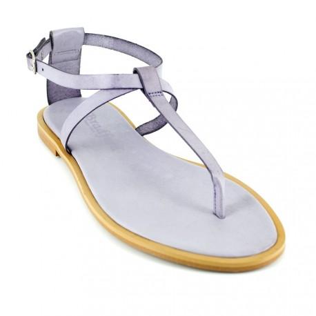 J.bradford Sandale  Cuir Mauve JB-ANGIE Mauve - Livraison Gratuite avec  - Chaussures Sandale Femme