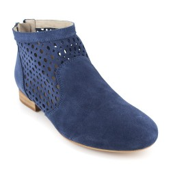 Bottine J.Bradford Cuir Bleu JB-AMY
