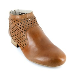 Bottine J.Bradford Cuir Camel JB-AMY