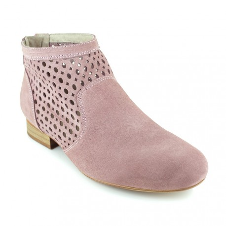 Boot J.Bradford Pink Leather JB-AMY
