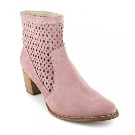 Boot J.Bradford Pink Leather JB-ALTEA