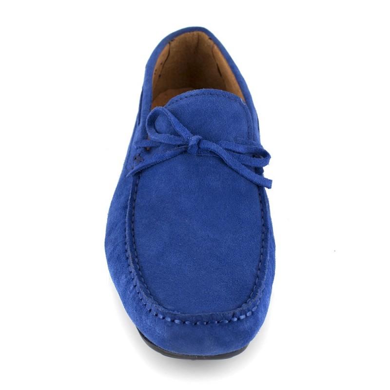 Mocassin J.Bradford Cuir bleu JB-AITOR - Couleur - Bleu xgxZhm4Wo