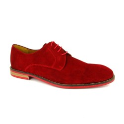 J.Bradford Shoes Derby Frenchi Red