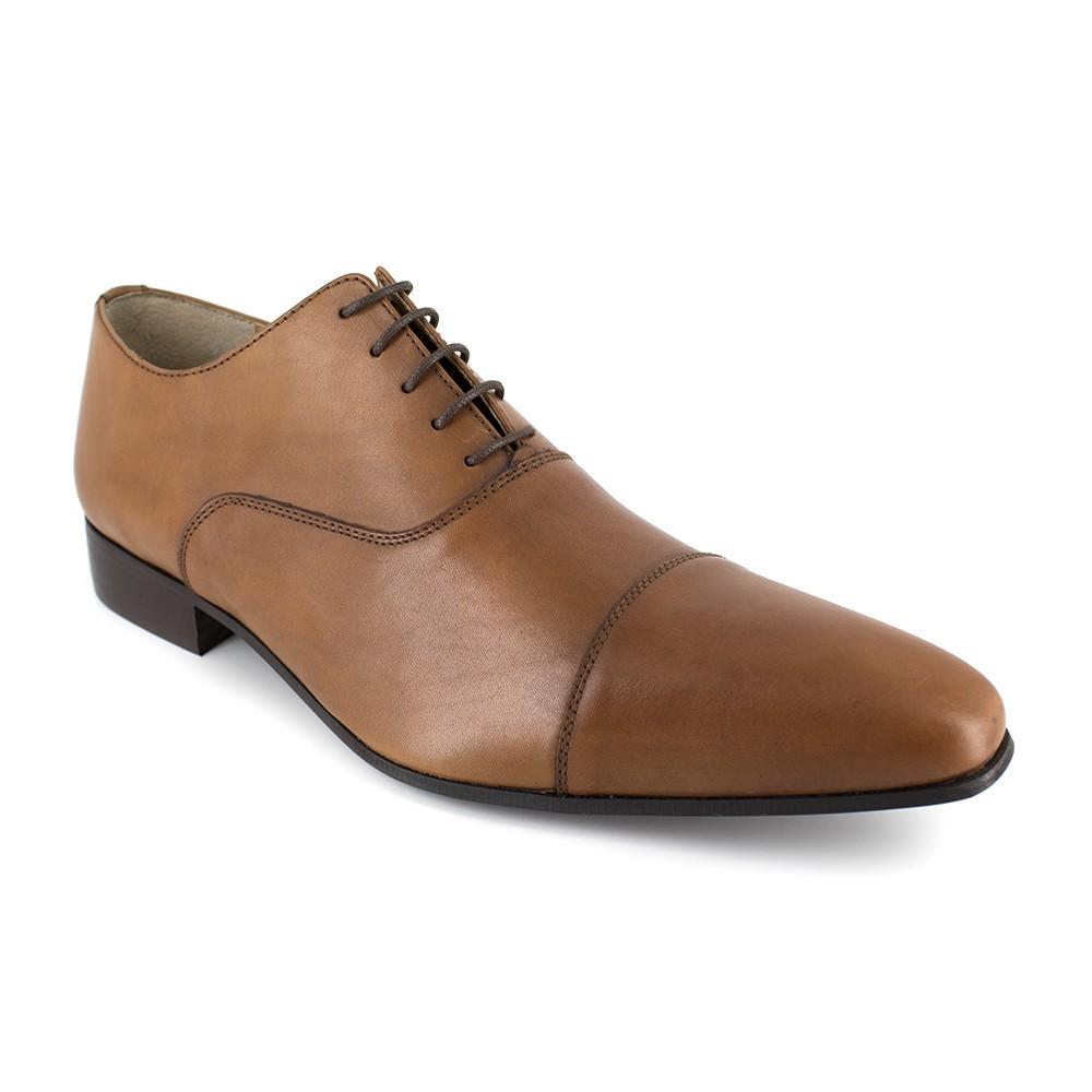 Richelieu J.Bradford Cuero Camel - Color - Marrón, Talla Zapatos - 41