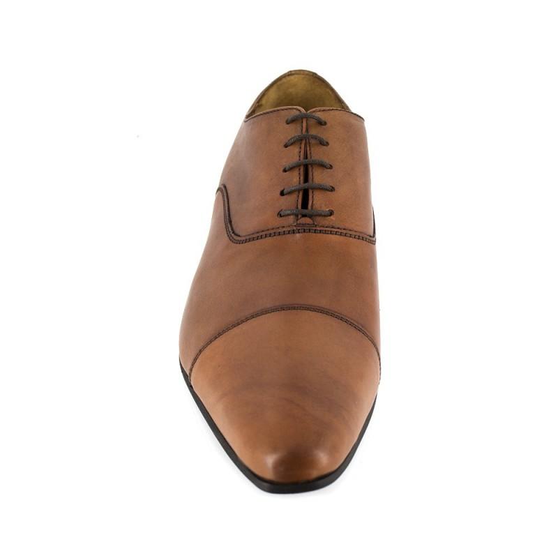 Richelieu J.Bradford Cuero Marrón - Color - Marrón, Talla Zapatos - 45