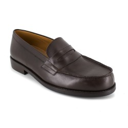 Loafer J.Bradford Brown leather JB-FESTINA