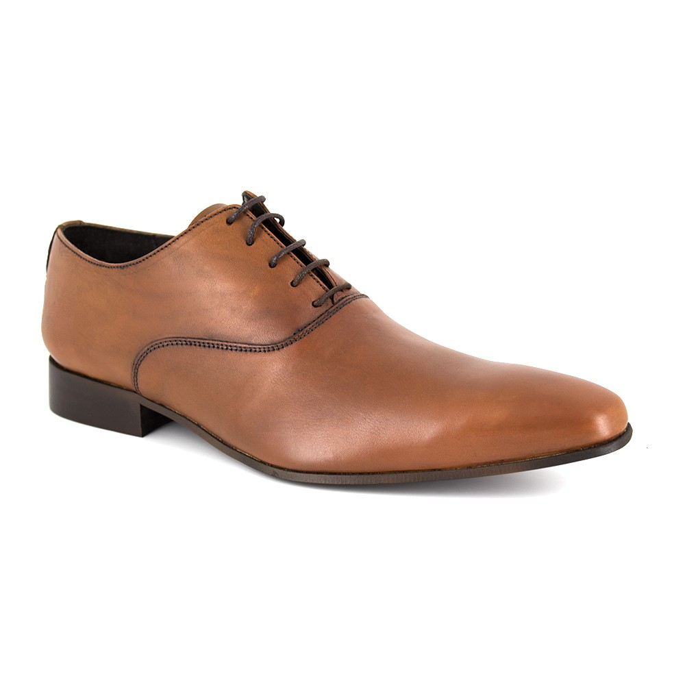 Brogues En Cuir De Chameau J.bradford - Couleur - Chameau, Chaussures Taille 40 -