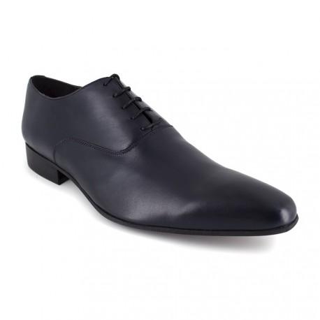 Richelieu J.Bradford Cuero Marino - Color - Azul, Talla Zapatos - 40