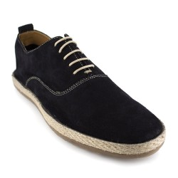 Richelieu J.Bradford Navy Blue Leather JB-TROPAS