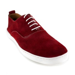 Sneaker J.Bradford Red Leather JB-TREPA