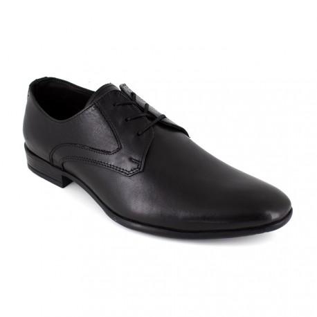 Derby J.Bradford Black Leather FORDUKO