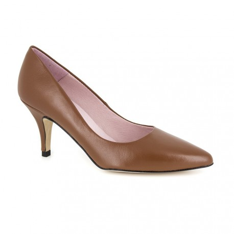 Stiletto J.Bradfod Cognac Leather