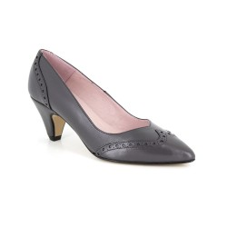 Stiletto J.Bradford Grey Leather JB-AQUA