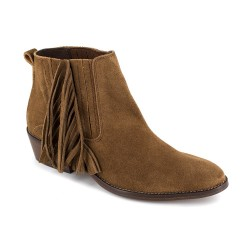 Low Boots J.Bradford Cognac Leather JB-AFRA