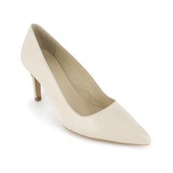 Stiletto J.Bradford Beige Leather JB-PEPA
