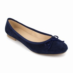 Ballerina J.Bradford Navy Blue Leather JB-MIRANDA