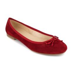 Bailarina J.Bradford Cuero rojo