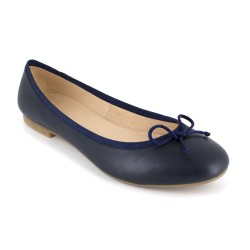 Ballerina J.Bradford Navy Blue Leather JB-Valeria